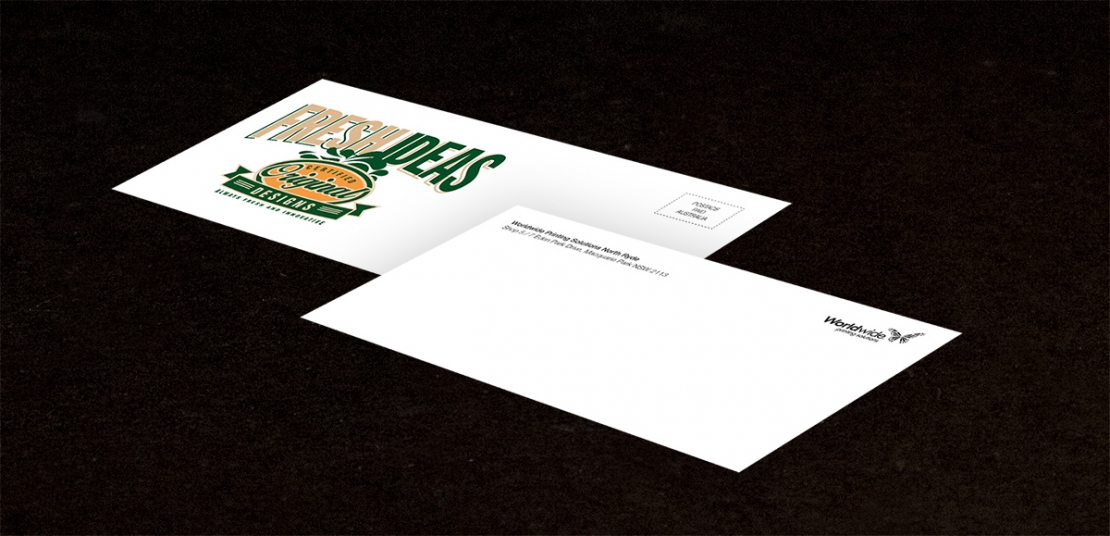 Envelope printing impress your customers worldwide full colour dlx envelopes reheart Choice Image